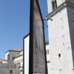 La scarsa sicurezza della struttura a Piazza Orsini.