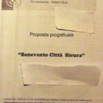 """Che fine ha fatto il progetto """"Benevento città sicura""""?"""
