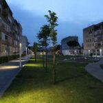 Rione Liberta': spina verde, via Galanti e via Garrucci