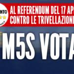 Il M5S di Benevento vota e fa votare sì