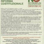 Il referendum costituzionale: le ragioni del NO